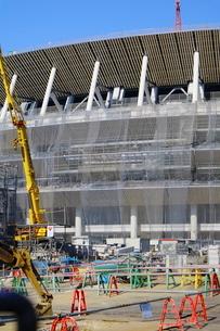 建設中の新国立競技場の写真素材 [FYI01811877]