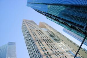 汐留地区の高層オフィス群の写真素材 [FYI01811915]
