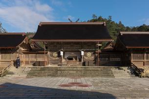 出雲大社の本殿の写真素材 [FYI01811921]