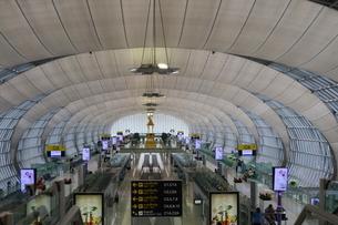タイ・バンコクのスワンナプーム国際空港の搭乗ゲートの写真素材 [FYI01811998]