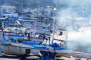 小坪漁港の写真素材 [FYI01812812]