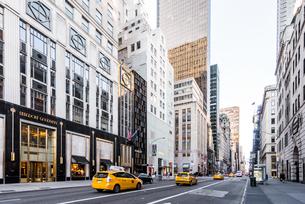 ニューヨーク・5番街の写真素材 [FYI01812821]