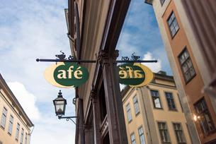 ストックホルム旧市街の町並みの写真素材 [FYI01812921]