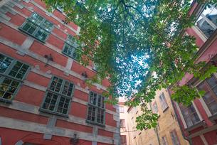 ストックホルム旧市街の町並みの写真素材 [FYI01813094]