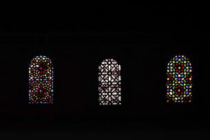 バヒア宮殿のステンドグラスの写真素材 [FYI01813099]