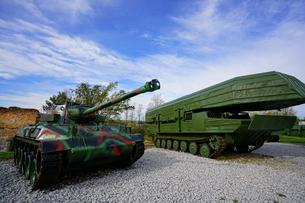 カルロヴァッツ野外戦争博物館の写真素材 [FYI01813215]