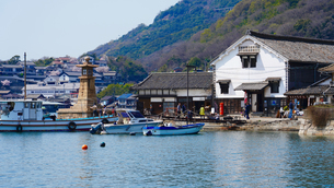 鞆の浦の風景の写真素材 [FYI01813256]