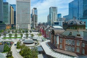 東京駅丸の内の写真素材 [FYI01813324]