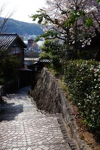 尾道の町の坂の写真素材 [FYI01813350]