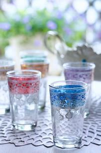 モロッコのグラスの写真素材 [FYI01813355]