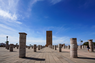 ラバト ハッサンの塔の写真素材 [FYI01813377]