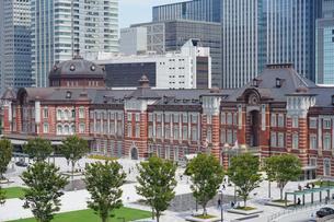 東京駅丸の内の写真素材 [FYI01813419]