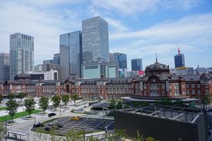 東京駅丸の内の写真素材 [FYI01813471]