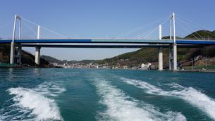 尾道大橋と新尾道大橋の写真素材 [FYI01813540]