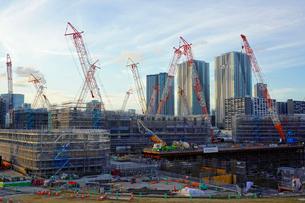 オリンピック選手村建設地の写真素材 [FYI01813662]