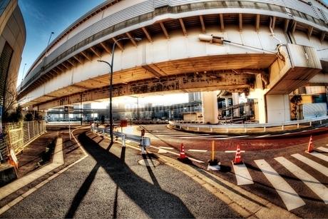 東京湾岸エリアの夕景の写真素材 [FYI01813670]