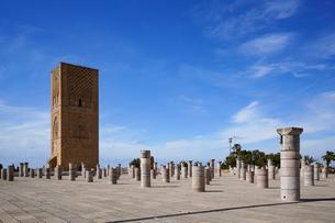 ラバト ハッサンの塔の写真素材 [FYI01813725]