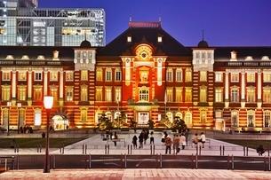 東京駅の写真素材 [FYI01813735]