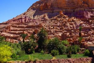 モロッコ アイトベンハッドウ 世界遺産の写真素材 [FYI01813765]
