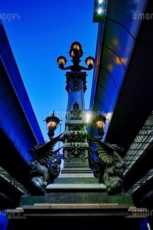 日本橋夕景の写真素材 [FYI01813838]