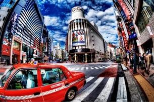 晴れた日の渋谷の写真素材 [FYI01813981]