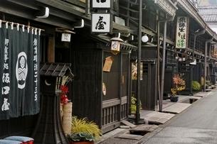 飛騨高山の街並みの写真素材 [FYI01814158]