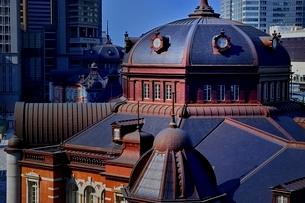 東京駅ドーム屋根外観の写真素材 [FYI01814310]