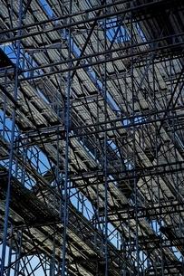 建設現場用足場の写真素材 [FYI01814493]