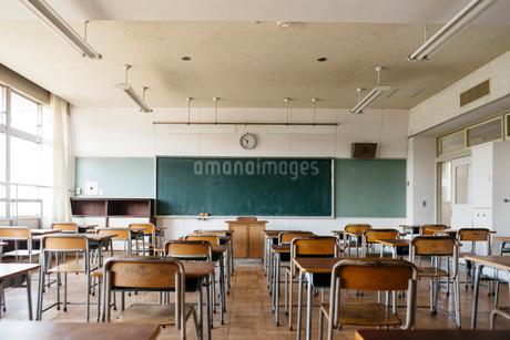 教室の写真素材 [FYI01815333]