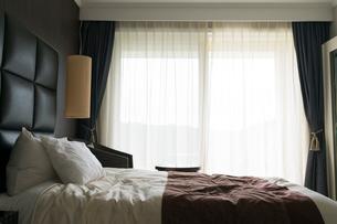 ホテルの寝室の写真素材 [FYI01815377]
