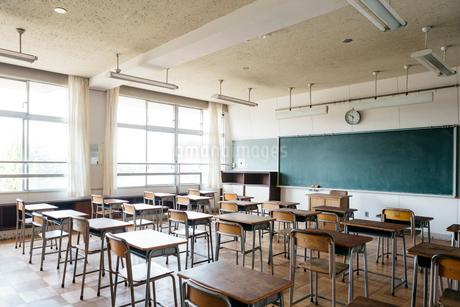 教室の写真素材 [FYI01815485]