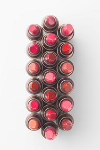 口紅の集合カット10の写真素材 [FYI01815799]