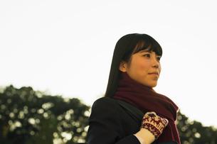 女子高校生のポートレイトの写真素材 [FYI01815879]