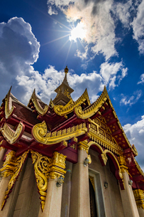 Udonthani city pillar shrine, Thailandの写真素材 [FYI01816367]