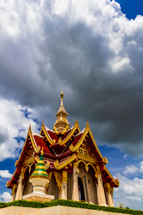 Udonthani city pillar shrine, Thailandの写真素材 [FYI01816415]