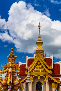 Udonthani city pillar shrine, Thailandの写真素材 [FYI01816448]