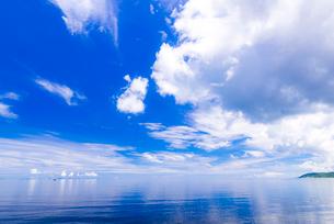 海と雲の写真素材 [FYI01816506]