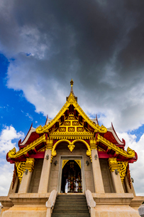 Udonthani city pillar shrine, Thailandの写真素材 [FYI01816539]
