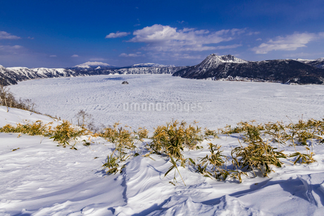 北海道 摩周湖の写真素材 [FYI01816556]