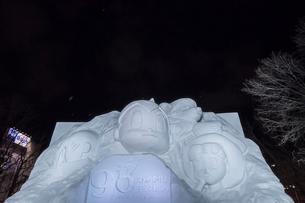さっぽろ雪まつりの写真素材 [FYI01816573]