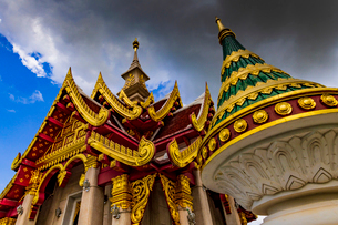 Udonthani city pillar shrine, Thailandの写真素材 [FYI01816620]