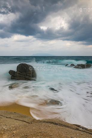 屋久島 永田いなか浜の写真素材 [FYI01816626]