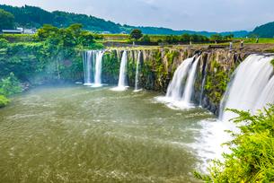 原尻の滝の写真素材 [FYI01816691]