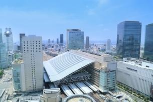 グランフロント大阪と大阪市街の写真素材 [FYI01816960]