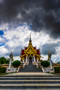 Udonthani city pillar shrine, Thailandの写真素材 [FYI01817057]