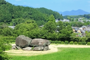 石舞台古墳の写真素材 [FYI01817123]