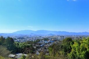 山の辺の道より大和三山を望むの写真素材 [FYI01817216]
