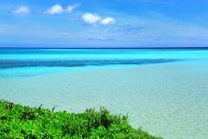 宮古ブルーの海の写真素材 [FYI01817332]