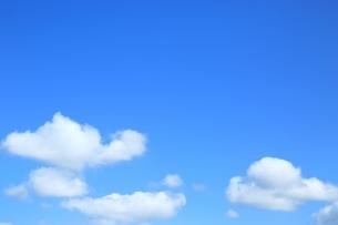 青空と雲の写真素材 [FYI01817335]