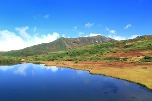 秋の大雪山 旭岳の写真素材 [FYI01817394]